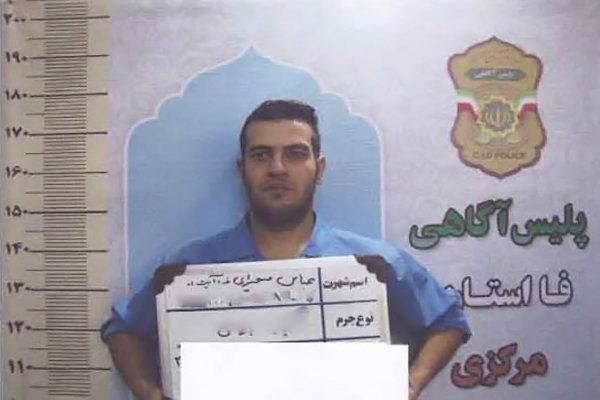 انتشار عکس قاتل فراری تیراندازی مرگبار در اراک از سوی پلیس