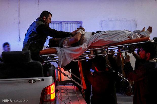 حمله انتحاری طالبان در کابل