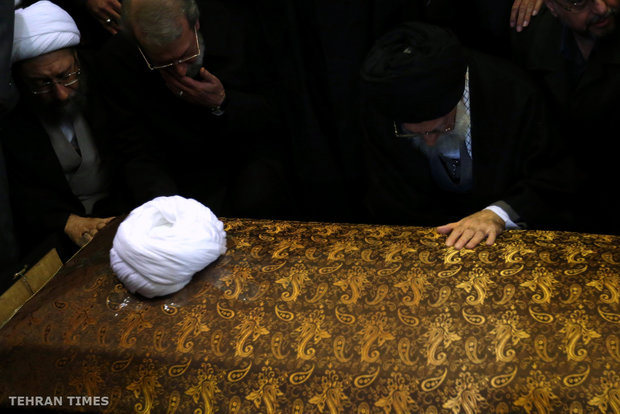 Iran holds funeral ceremony for Rafsanjani