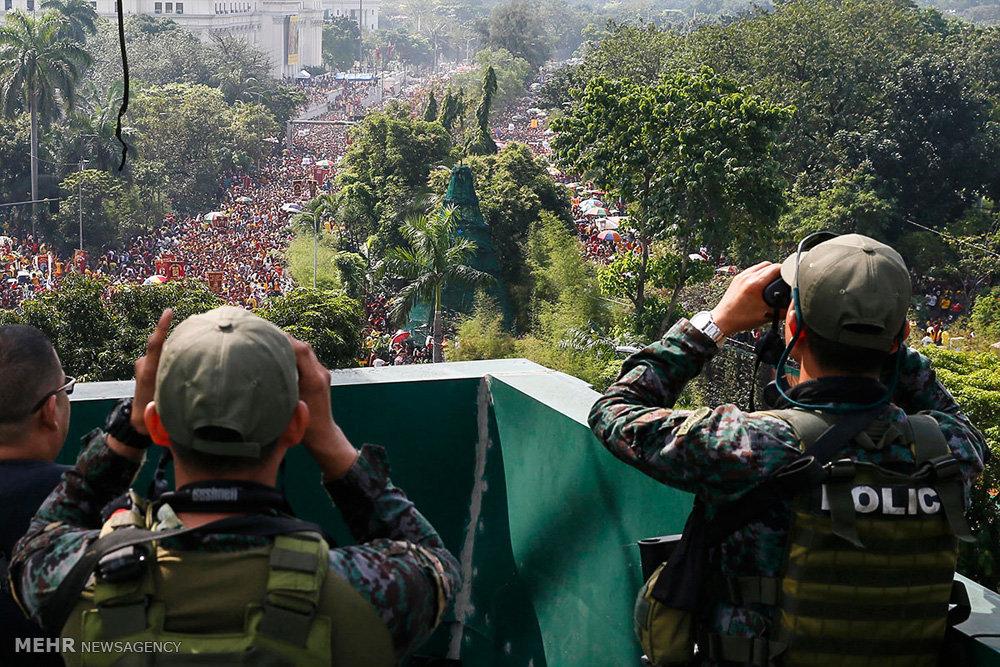 مراسم بلک نازارنه  در فیلیپین