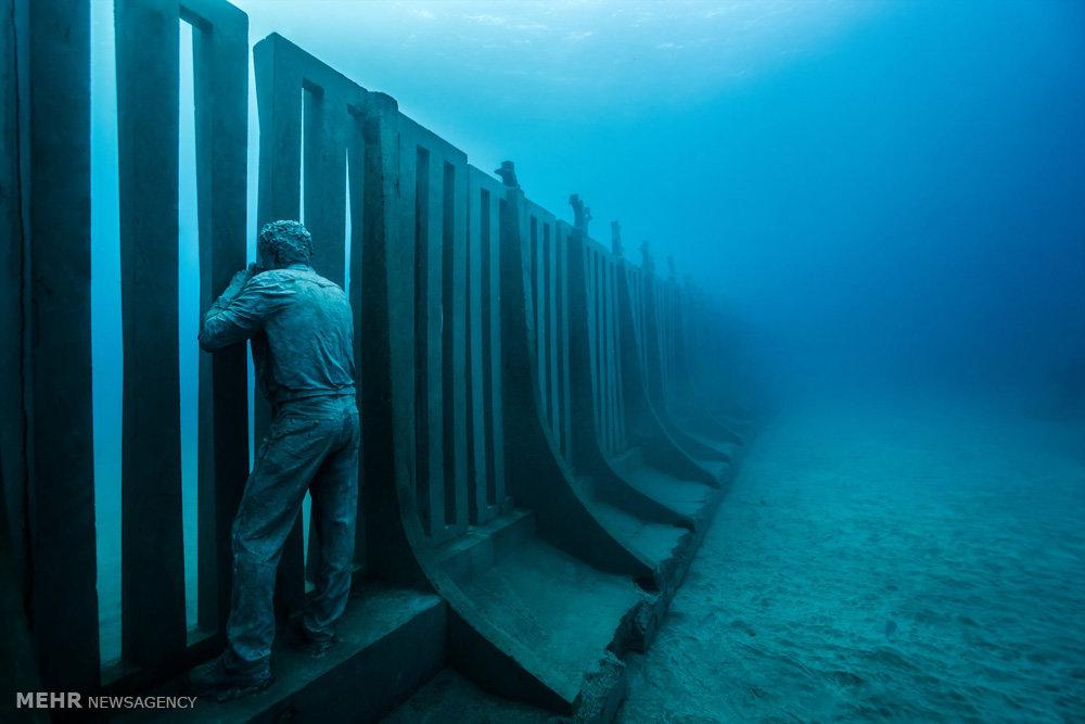 اولین موزه زیر آب اروپا