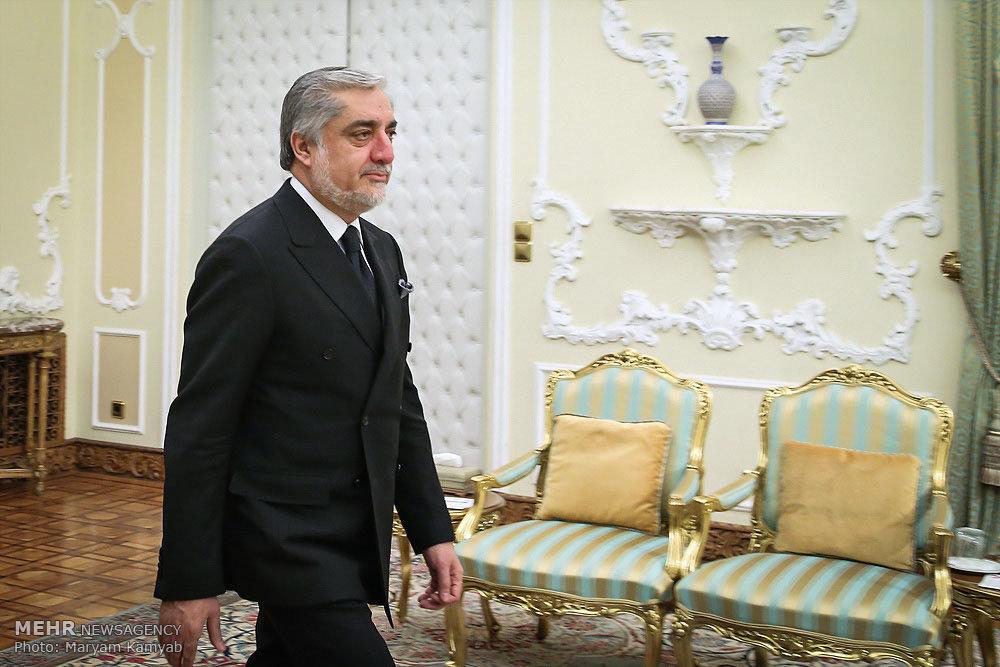 دیدار رئیس اجرایی دولت افغاستان با رئیس جمهور