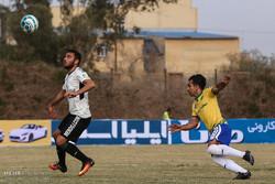 پیروزی تیم فوتبال صبای قم برابر ملوان انزلی
