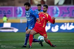دیدار تیم های استقلال تهران و نفت تهران