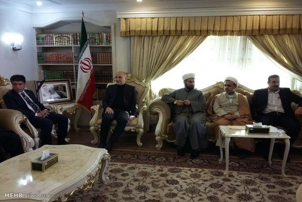 دومین روز مراسم عزاداری آیت الله هاشمی رفسنجانی در اقلیم کردستان