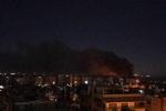 Şam'daki Mezze Havaalanı'na İsrail saldırısı