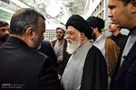 حرم رضوی میں مرحوم آیت اللہ رفسنجانی کے ایصال ثواب کے سلسلے میں مجلس عزا