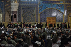 Tribute ceremony for Ayat. Hashemi in Mashhad