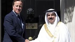 UK ex-premier visits Bahrain, shunning rights abuse concerns