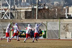 دیدار تیم های فوتبال بانوان راه یاب ملل سنندج و شهرداری سیرجان