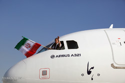 Iran Air's Airbus A321 Arrived in Tehran