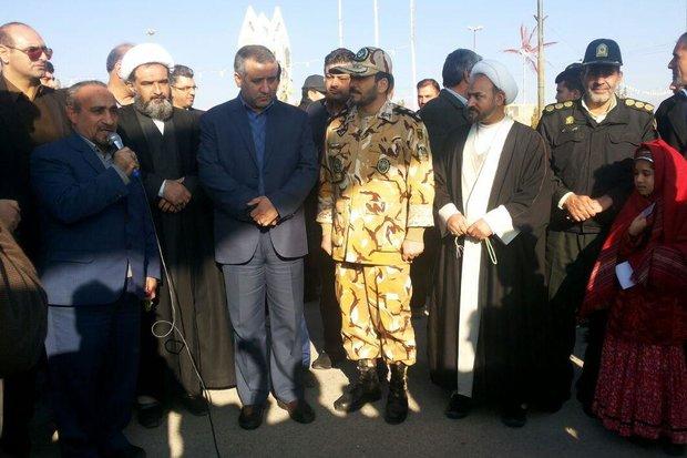 کراپشده - حضور استاندار سمنان در کلاته خیج شاهرود