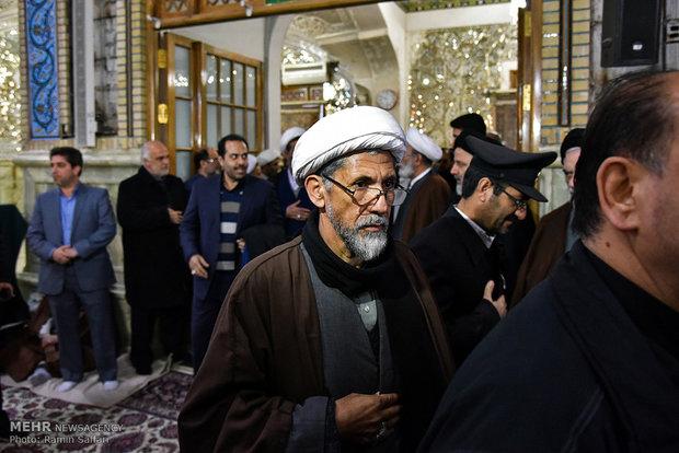 Tribute ceremony for Ayat. Hashemi in Mashhad