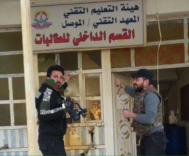 تحرير مبنى المعهد التقني بجامعة الموصل