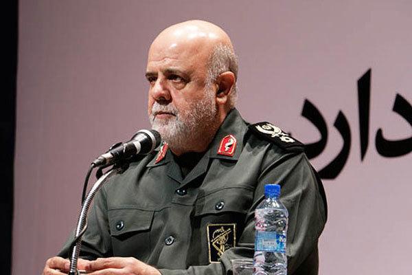 السفير الايراني لدى بغداد يزور مرقد الشهيد ابو مهدي المهندس