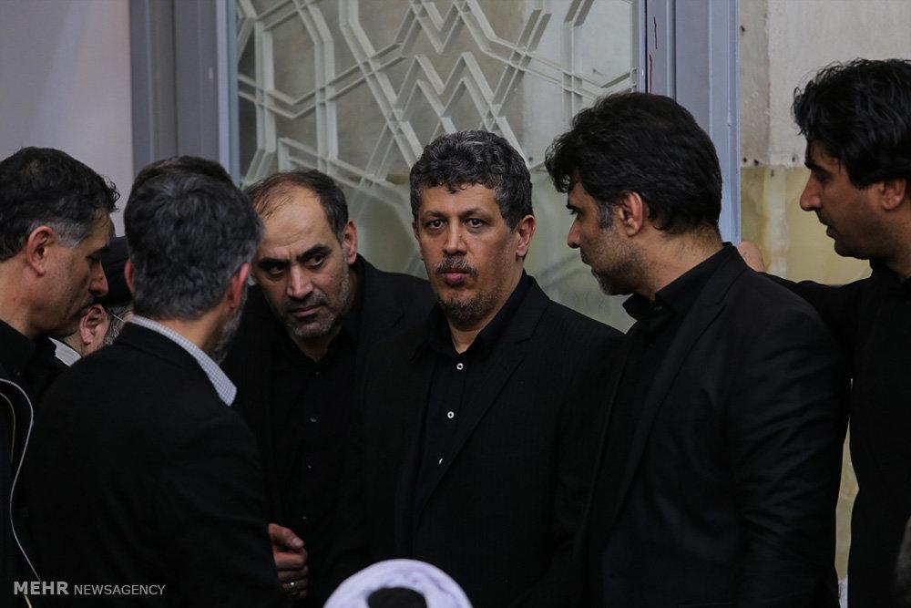 مراسم بزرگداشت آیت الله هاشمی رفسنجانی در مسجد اعظم قم - ۲