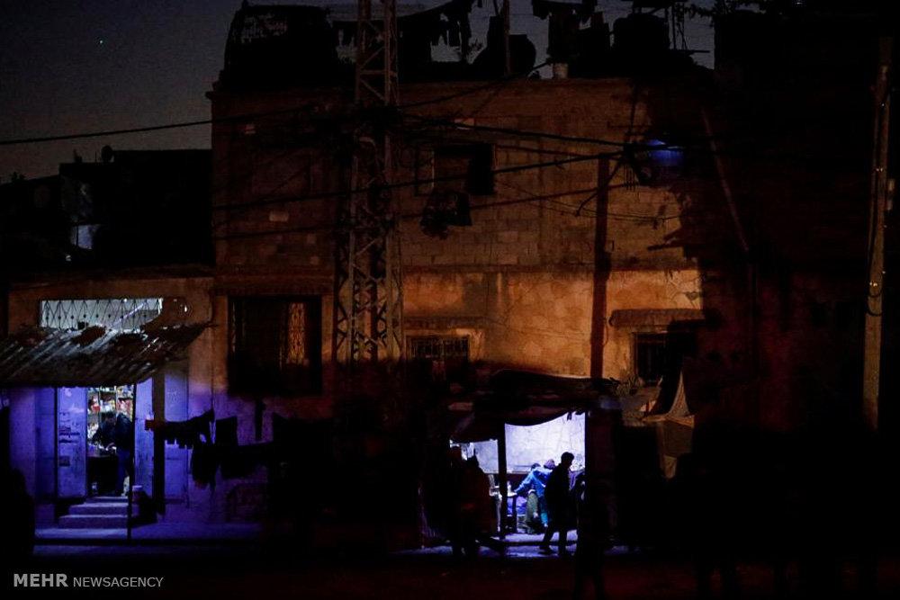 قطع برق در نوار غزه