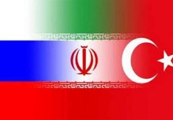 Iran, Russia, Turkey discuss Astana meeting on Syria
