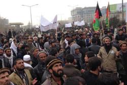 تظاهرات اعتراض آمیز مقابل سفارت و کنسولگری پاکستان در افغانستان