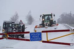 زمستان سخت در اروپا