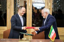 دیدار وزرای خارجه آلبانی و ایران