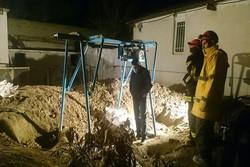 ریزش چاه