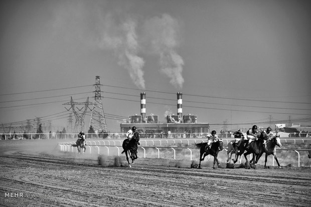 Horse Racing Competition in Mashhad