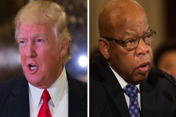واکنش ترامپ به نماینده ای که وی را رئیس جمهور نامشروع خوانده بود