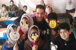 دروس به دانش آموزان روستایی با نمایش خلاق آموزش داده می شود