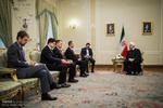 ایرانی صدر سے آلبانیہ کے وزیر خارجہ کی ملاقات