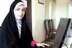یک دانشجوی ایلامی دختر برتر استان شد