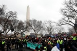 Washington protesters vow to fight for civil rights under Trump