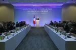 پیرس میں اسرائیل اور فلسطین کے درمیان امن مذاکرات  کے لئے بین الاقوامی اجلاس