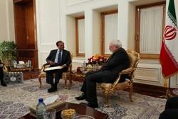 ظریف و وزیر سریلانکایی