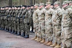 نیروهای آمریکایی در شرق اروپا