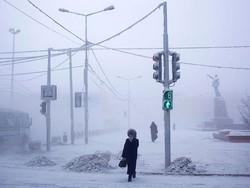 روس یخ بستہ گاؤں