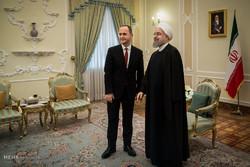 Ruhani'nin Arnavutluk Dışişleri Bakanı'yla görüşmesi