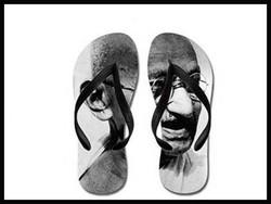 چپل گاندھی ہندوستان