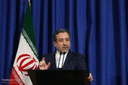 Abbas Araqchi presser in 1st anniversary of JCPOA implementation