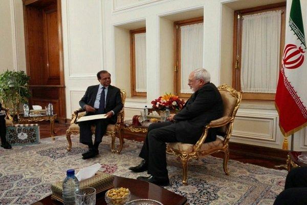 وزير الخارجية الايراني يستقبل وزير الاقتصاد السريلانكي