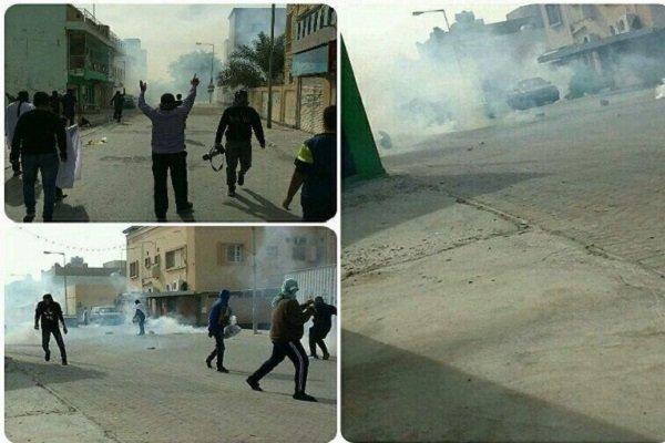 تشدید اعتراضات مردمی/حرکت نظامیان آل خلیفه به سمت منزل شیخ عیسی
