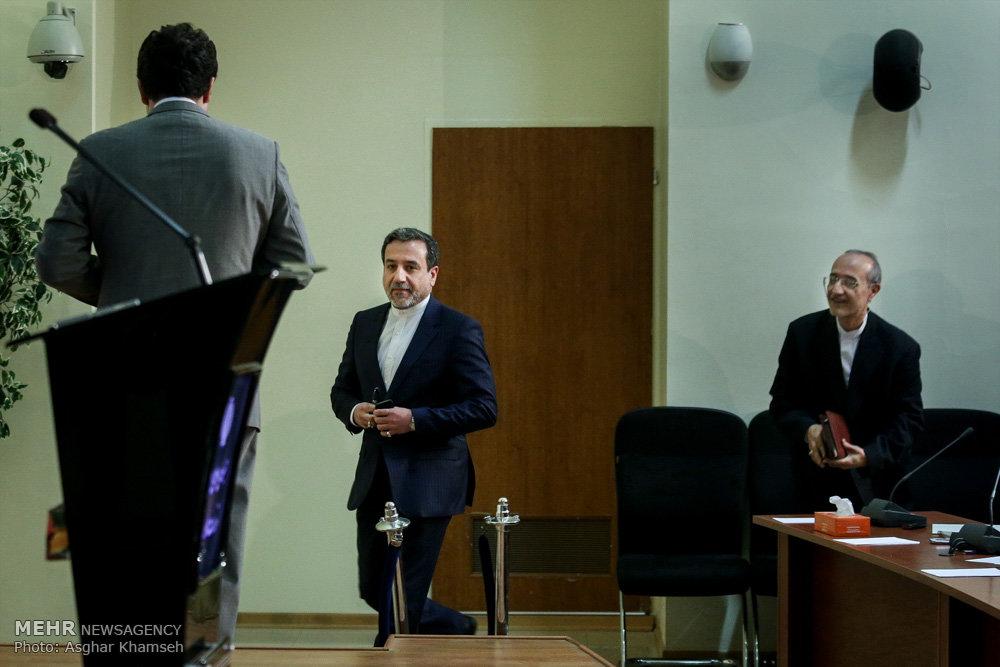 Araghchi presser in 1st anniversary of JCPOA implementation