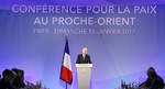 Paris peace conference ends with call for two-state solution, dialogue