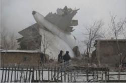 سقوط هواپیمای ترکیه قرغیزستان