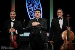 سومین روز سی و دومین جشنواره موسیقی فجر با اجرای سالار عقیلی درسالن همایش های برج میلاد