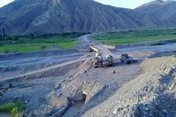 جاده روستای مرادآباد شهرستان اردل بازسازی شد