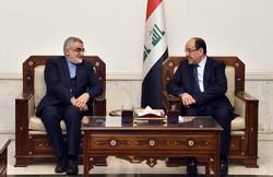 """نائب الرئيس العراقي يشدد على اهمية العمل المشترك مع ايران لمواجهة """"الارهاب"""""""