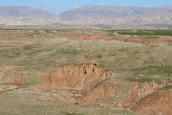 A view of the Achaemenid-era archeological site in Mashhad-e Morghab district, Iran