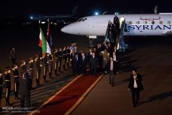 وصول رئيس مجلس الوزراء السوري إلى العاصمة طهران /صور
