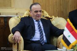 مراسم استقبال رسمی نخست وزیر سوریه